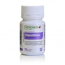 Clinicians Digestease With Tolerase 60 Capsules