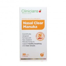 Clinicians Nasal Clear Manuka 25ml