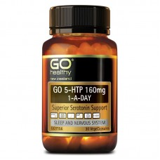 GO Healthy GO 5-HTP 160mg 1-A-Day 30 Capsules