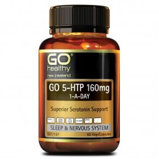 GO Healthy GO 5-HTP 160mg 1-A-Day 60 Capsules