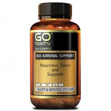 GO Healthy GO Adrenal Support 120 Capsules