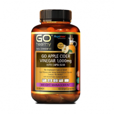 GO Healthy GO Apple Cider Vinegar 1000mg With Capsi Slim 60 Vcaps