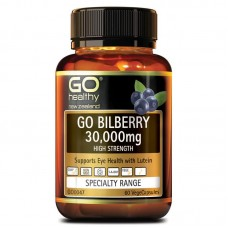 GO Healthy GO Bilberry 30000mg 60 Capsules