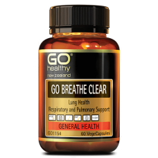 GO Healthy GO Breathe Clear 60 Capsules