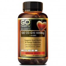 GO Healthy GO Co-Q10 400mg 1-A-Day 60 Capsules