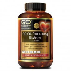 GO Healthy GO Co-Q10 450mg BioActive 1-A-Day 100 Capsules