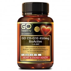 GO Healthy GO Co-Q10 450mg BioActive 1-A-Day 30 Capsules