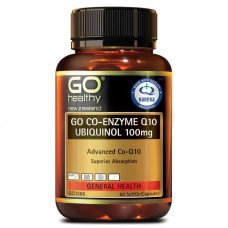 GO Healthy GO Co-Q10 Ubiquinol 100mg 60 Capsules