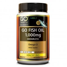 GO Healthy GO Fish Oil Odourless 1000mg 440 Capsules