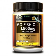 GO Healthy GO Fish Oil Odourless 1500mg 210 Capsules