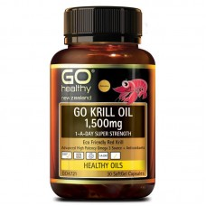 GO Healthy GO Krill Oil 1500mg 30 Capsules