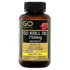 GO Healthy GO Krill Oil 750mg 60 Capsules