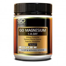 GO Healthy GO Magnesium 1-a-Day 500mg 200 Capsules
