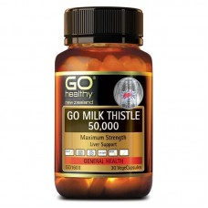 GO Healthy GO Milk Thistle 50000mg 30 Capsules