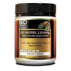 GO Healthy GO Mussel 2600mg 300 Capsules