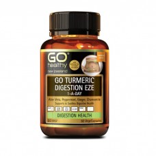 GO Healthy GO Turmeric Digestion Eze 1-A-Day 60 Capsules