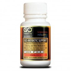 GO Healthy Go Antibiotic Support - Probiotic 40 Billion 14 VegeCapsules
