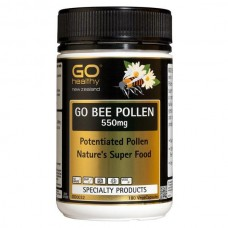 GO Healthy GO Bee Pollen 550mg 180 Capsules