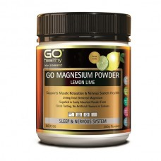 Go Healthy GO Magnesium Powder - Lemon Lime 250g