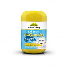 Nature's Way Kids Smart Vita Gummies Calcium + Vit D3 60 Pastilles