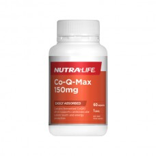Nutra-Life Co-Q10 Max 150mg 60 Capsules