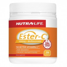 Nutra-Life Ester C 1000mg+ Bioflavonoids 200 Tablets