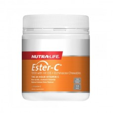 Nutra-Life Ester C 1000mg with Vitamin D3 Chewable 120 Tablets