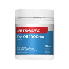 Nutra-Life Fish Oil 1000mg 180 Capsules