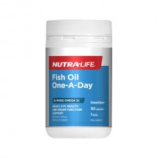 Nutra-Life Fish Oil One-A Day Concentrated Odourless 90 Capsules
