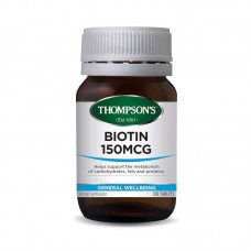 Thompson's Biotin 150mcg 100 Tablets