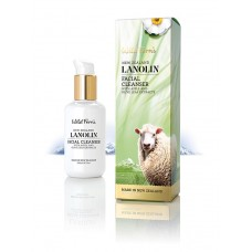 Wild Ferns Lanolin Facial Cleanser with Apple and Olive Leaf Extracts 140ml