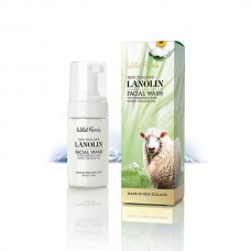 Wild Ferns Lanolin Facial Wash with Propolis and Sweet Orange 100ml
