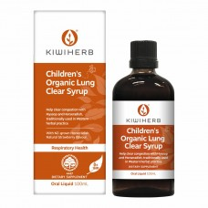 Kiwiherb Children's Organic Lung Clear Syrup 100ml